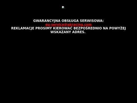 Akracing.pl fotele i krzesła sklep