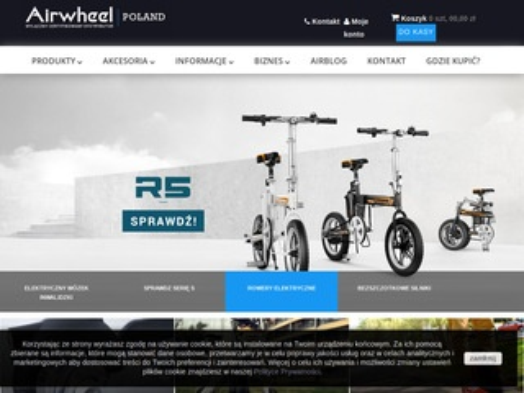 Airwheel Poland - polski dystrybutor