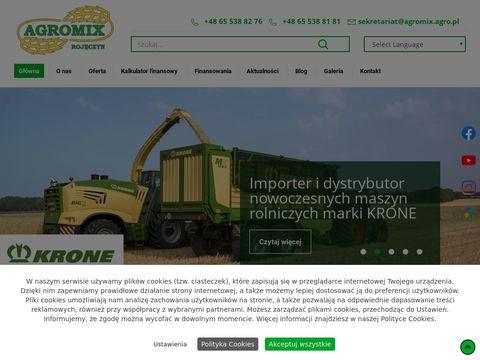 Agromix kultywatory ścierniskowe nowe