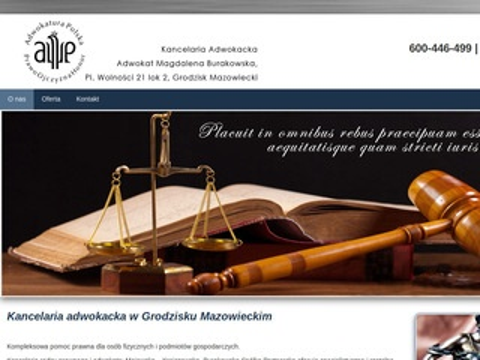 Adwokatgrodzisk.com obrona praw Klienta