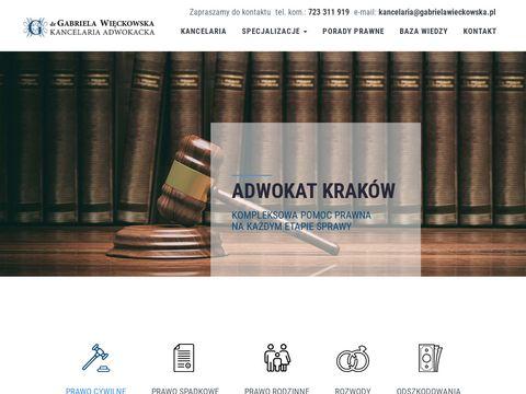 Adwokatwieckowska.pl Kraków