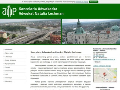 Adwokat-lechman.pl kancelaria Szczecin