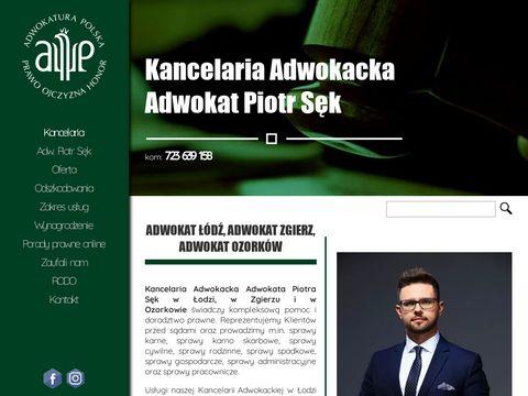 Adwokat-sekpiotr.pl w Łodzi i Zgierzu