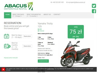 Abacus rent a motorbike