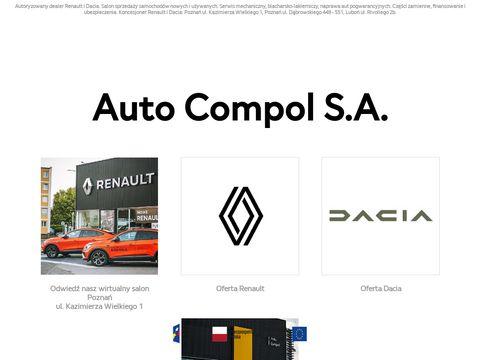 Auto Compol S.A. - koncesjoner Dacia