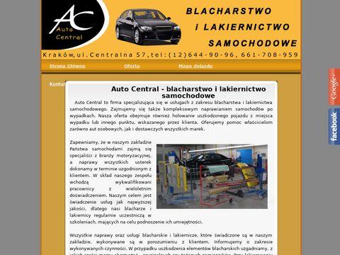 Auto-Central samochód zastępczy