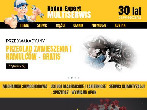 Radex Expert auto części Szczecin