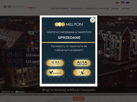 Auragdansk.pl nowe mieszkania