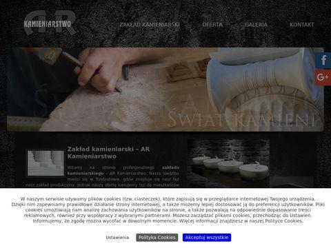 Ar-kamienie.pl nagrobki Gryfice