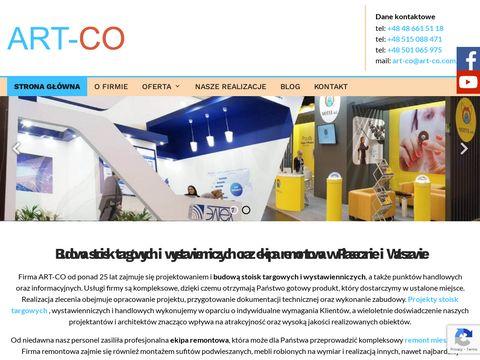 Art-Co zabudowa stoisk