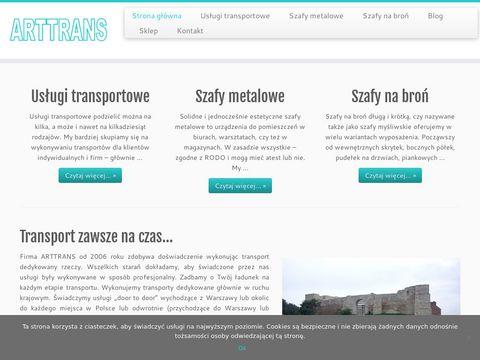 Arttrans.pl usługi transportowe