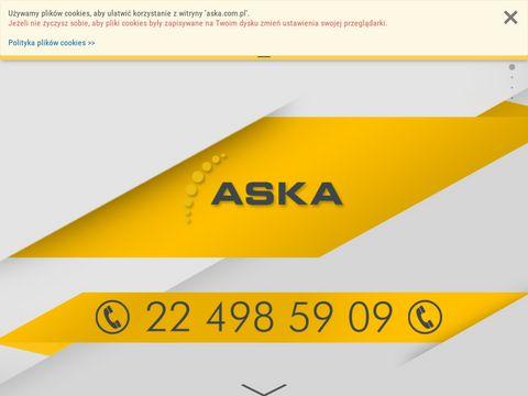 ASKA - kody kreskowe, systemy RFID