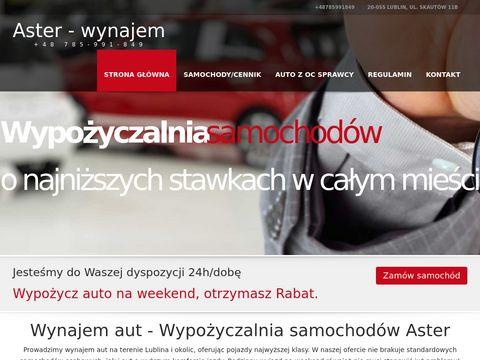 Aster-wynajem.pl aut Lublin