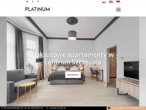 Aparthotel-platinum.pl w Szczecinie
