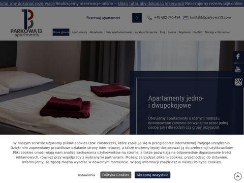 Apartamenty.parkowa13.com