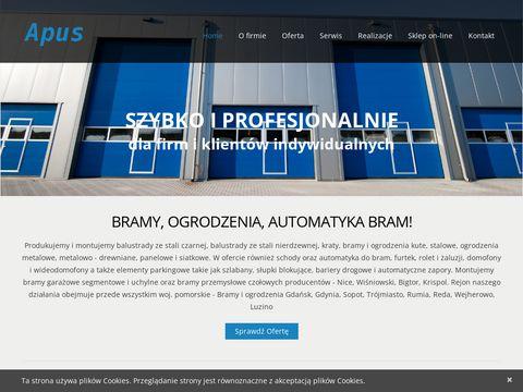 Apus.comweb.pl ogrodzenia Rumia