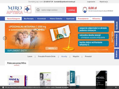 Aptekamirowska.pl asystor slim online