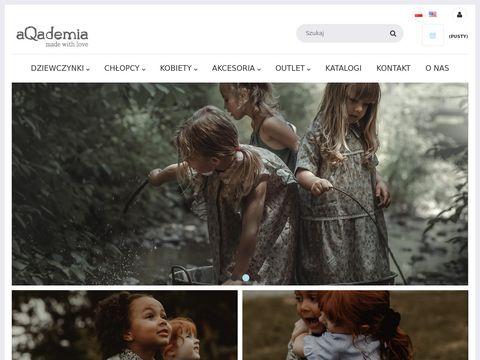 Aqademia.eu - ubrania dla dzieci