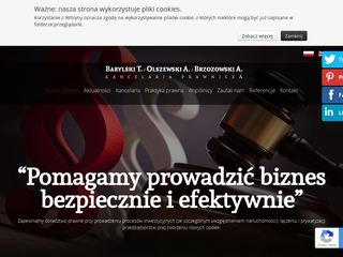 Bob.com.pl umowy kancelaria Warszawa