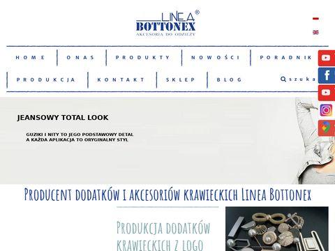 Bottonex.pl dodatki krawieckie