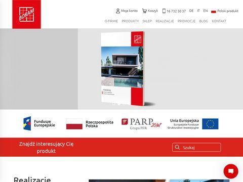 Boram.pl drzwi aluminiowe