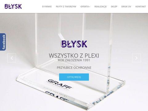 Blyskfirma.pl stojaki reklamowe