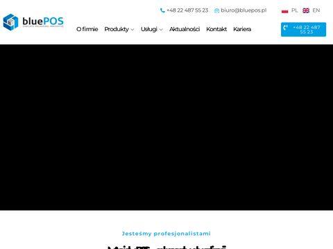 BluePos Standy reklamowe