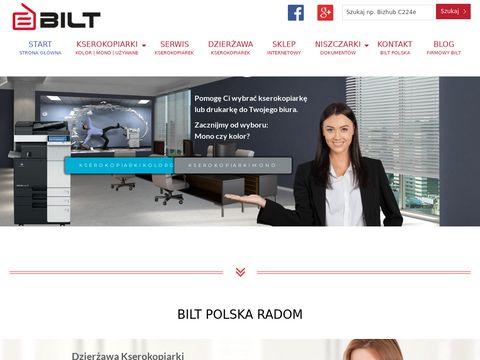 Biltpolska.pl - Serwis kserokopiarek