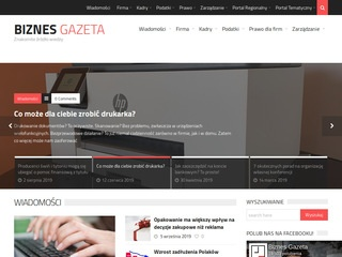 BiznesGazeta.pl - portal biznesowy