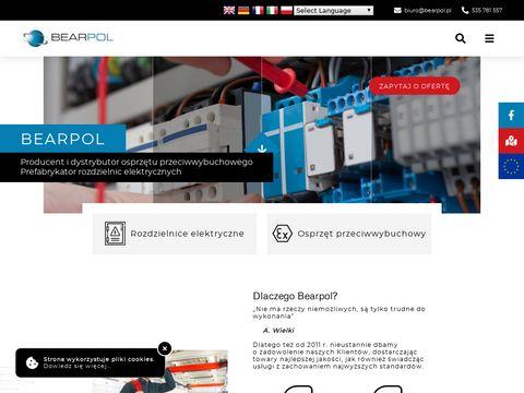 Bearpol.pl osprzęt przeciwwybuchowy