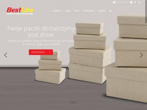 Best-line.pl - przewozy do Holandii