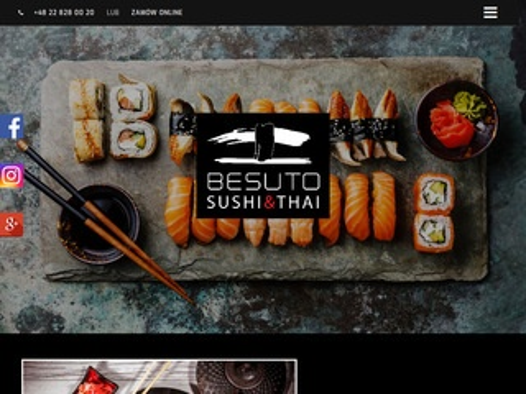 Besuto.pl sushi w Warszawie