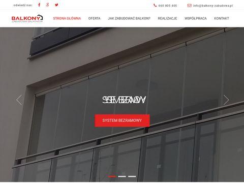 Balkony-zabudowa.pl - zabudowy balkonów