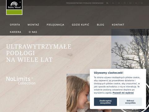 Baltic Wood podłogi lakierowane
