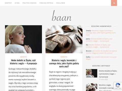 Baan.pl modowe porady