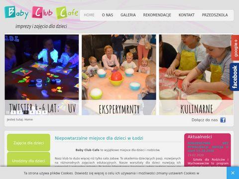 Baby Club Cafe sale zabaw Łódź