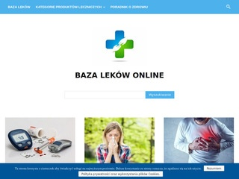 Baza-lekow.com.pl - opinie o lekach, ulotka