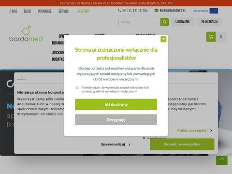 Bardomed.pl sprzęt rehabilitacyjny