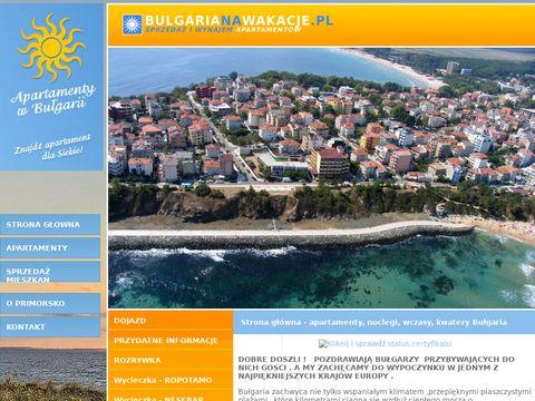 Portal bulgarianawakacje.pl