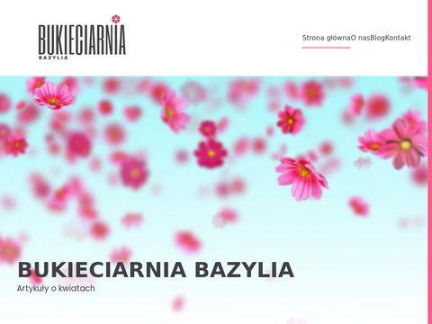 Bukieciarniabazylia.pl Kwiaciarnia Tychy