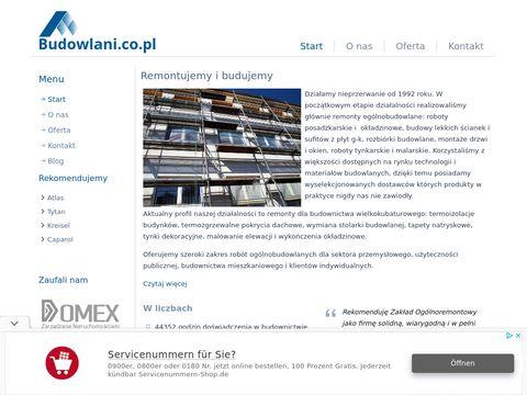 Budowlani.co.pl docieplanie budynków Żyrardów