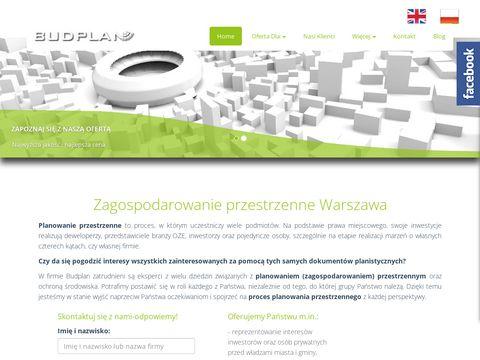 Budplan.net zagospodarowanie przestrzenne