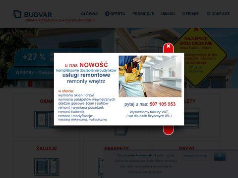 Budvar rolety Łódź