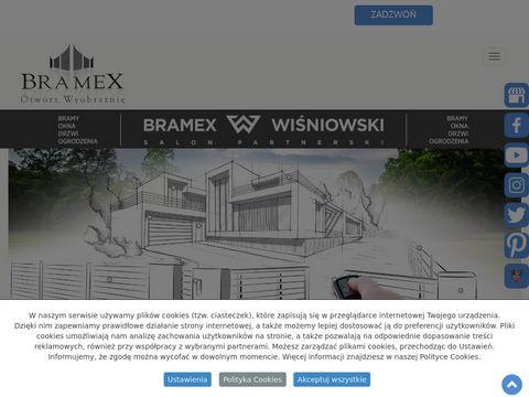 FHUP Bramex ogrodzenia siatkowe Krosno