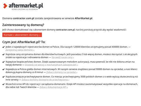 Contractor sp. z o. o. zaprawy cementowe