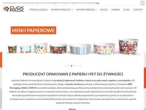 Click-pack.pl opakowania jednorazowe