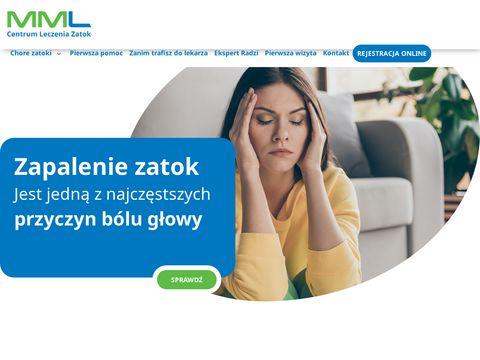 Klinika leczenia zatok MML