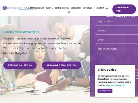 Champions Academy Kursy językowe dla firm