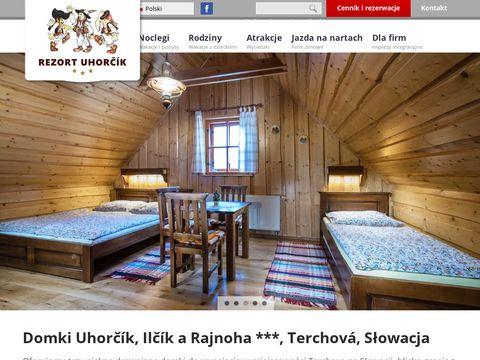 Chatauhorcik.pl Domki w górach do wynajęcia