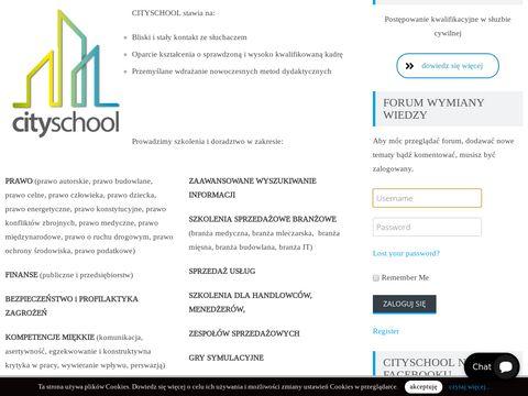 Cityschool szkoła języków obcych